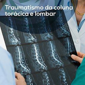 Traumatismo da coluna torácica e lombar